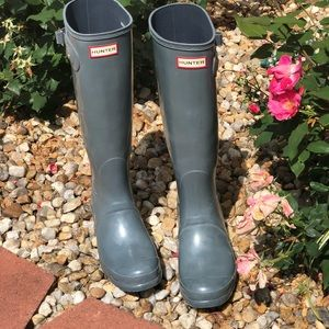 Hunter original Tall rain boots 🌸